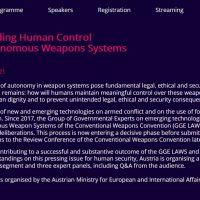Die von Österreich organisierte virtuelle Konferenz zu Killer Robotern war ein großer Erfolg!